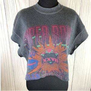 NWT UO Urban Renewal Super Bowl Crop Top